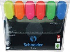 Набор маркеров текстовых Schneider Job 150 1-4.5 мм в блистере 6 шт (S115096)