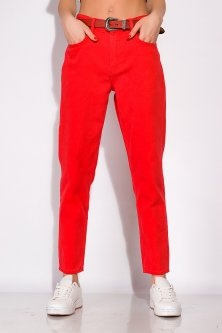 Джинси жіночі в стилі Casual Time of Style 148P296 28 Червоний