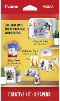 Фотобумага Canon Pixma Creative Kit MG101/RP-101/PP201 10х15 см 60 листов (3634C003AA)
