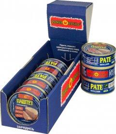 Упаковка паштета PowerBANKa с печенью 100 г х 8 шт (46110619)