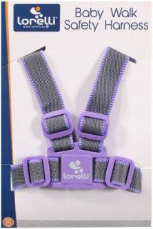 Вожжи Lorelli Baby Walk Safety Harness Grey/viole (Вожжи Lorelli grey/viole)