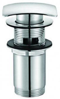 """Донный клапан для раковины PLAST BRNO клик-клак 5/4"""" хром (EUVCR05)"""