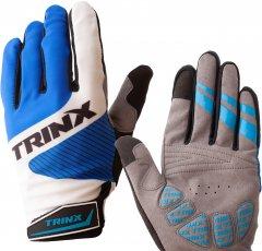 Велоперчатки TRINX TF61 L Black-Blue (TF61.Black-Blue.L)