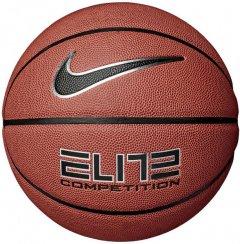 Мяч баскетбольный Nike Elite Competition 2.0 Amber/Black/Metallic Silver/Black Size 7 (N.000.2644.855.07)