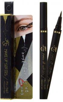 Жидкая подводка-лайнер для глаз черная Farmstay Make-Up Series Pen Liner Type 1 0.9 г (8809382400642)