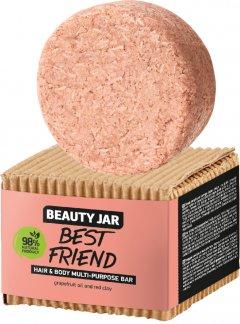 Твердый шампунь-мыло для волос и тела Beauty Jar Best Friend 65 г (4751030831893)