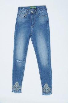 Джинси жіночі WOOX Slim fit W30 Синій Арт 0791