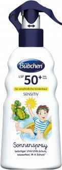 Солнцезащитный спрей Bubchen для детей SPF 50+ 200 мл (7613036861540)