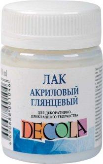 Лак акриловый Невская палитра Decola глянцевый 50 мл (4690688001046)