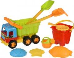 Набор для игры с песком Same Toy с самосвалом 9 предметов (943Ut)