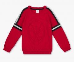 Дитячий светр для хлопчика C&A Людина Павук 104 розмір червоний 2063329