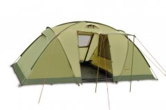 Палатка 4-местная Pinguin Base Camp Green (PNG 127.Green)