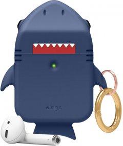 Чехол Elago Shark Case для AirPods Jean Indigo (EAP-SHARK-JIN)