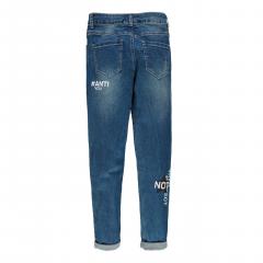 Еластичні джинси для дівчинки Mek 201MIBF001-148 сині 128