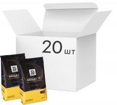 Упаковка молотого кофе Dellavie Supreme 100 г х 20 шт (4820000372510)