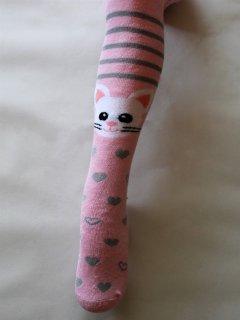 Колготки махрові Siela 584 74-80 см Світло-рожеві (4820204406073)