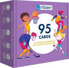 Карточки для изучения английского English Student согласно программе МОН. Спорт и досуг + аудио (9786177702206)