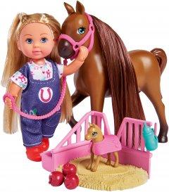 Кукольный набор Simba Toys Доктор Эви Лошадка с новорожденным жеребенком (5733487)