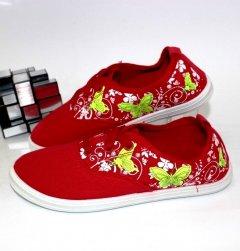Кеди для дівчаток Sport ML05C-red 26 16.5 см червоний