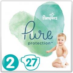 Подгузники Pampers Pure Protection Размер 2 Mini 4-8 кг 27 шт (8001841023205)