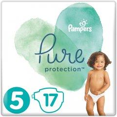 Подгузники Pampers Pure Protection Размер 5 Junior 11-16 кг 17 шт (8001841023335)