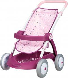 Коляска для куклы Smoby Toys Baby Nurse Прованс Прогулка с корзиной (254003) (3032162540039)