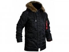 Куртка Аляска Slim Fit N-3B Black (XL)