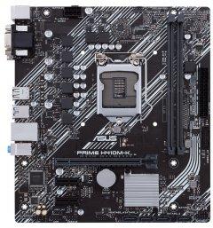 Материнская плата Asus Prime H410M-K (s1200, Intel H410, PCI-Ex16)