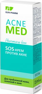 SOS-крем Elfa Pharm Acne Med против акне 15 мл (5901845503679)