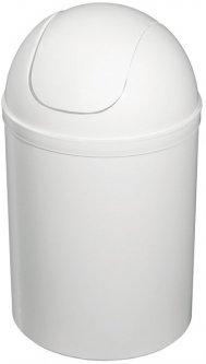 Ведро для мусора BISK 90302 белое