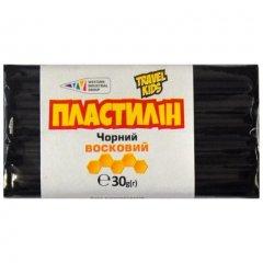 Пластилін Гамма Чорний восковий 30 грам