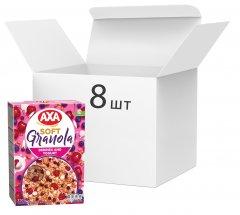 Упаковка гранолы AXA с ягодами и йогуртом 320 г х 8 шт (4820008129390)