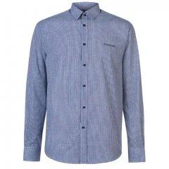 Рубашка Pierre Cardin 558001-81 M Nvy S Gingham