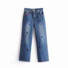 Джинси жіночі Boot Cut Сolors Berni Fashion (M) Синій (54484)