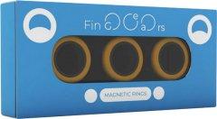 Магнитные кольца FinGears Magnetic Rings Sets Size L Orange-Black (FG380LORBLK )