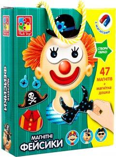 Магнитная игра Vladi Toys Фейсики (укр) (VT3702-15) (4820195057773)