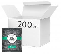 Упаковка зеленого чая Erbe Sencha в пакетиках 200 шт х 1.5 г (4820097819776)
