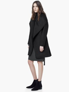 Пальто Mango 54017514 М Черное (AB5000000129812)