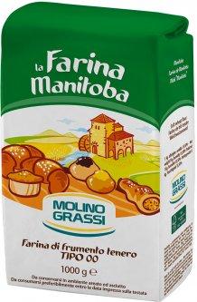 Мука из мягких сортов пшеницы Molino Grassi Manitoba Tipo 1 кг (8013971006652)