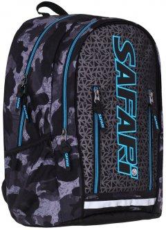 Рюкзак Safari Uni-Peak 45 х 32 х 17 см 24 л Серый (20-141L-1) (8591662001419)