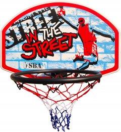 Щит баскетбольный SBA навесной детский 66 х 46 см S881RB