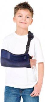 Бандаж для руки поддерживающий (косыночная повязка сетка) Торос-Груп Тип 610с(СН) детский размер 0 Синий (4820114089786)