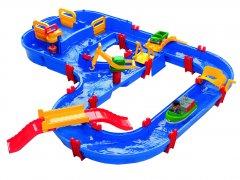 Игровой набор BIG Аква Плей. Мега мост с краном 1 фигурка 105х120х22 см 3+ (8700001528)