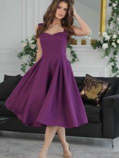 Платье New Fashion 360 48 Сиреневое (2000000468464)