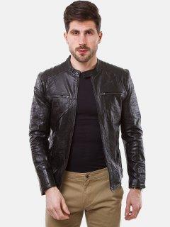 Куртка из искусственной кожи Remix 2660 XL Черная (2950006499460)