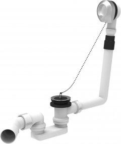 Сифон для ванны SANIT 35038 трубный 40/50x50 мм с переливом