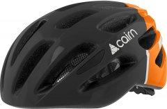 Велосипедный шлем Cairn Prism M (55/58 см) Black-Neon Orange (0300050-242-55)