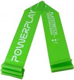 Эспандер ленточный PowerPlay 4112 Medium 9 кг Зеленый (PP_4112_Green_Medium)