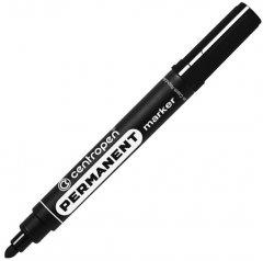 Набор перманентных маркеров Centropen 2.5 мм 10 шт Черных (8566/01)