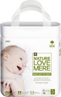 Подгузники-трусики NatureLoveMere Magic Soft Fit размер XL 20 шт (8809402093700)